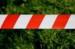 AFZETLINT ROOD/WIT 75 mm 500 mtr./dispenserdoos