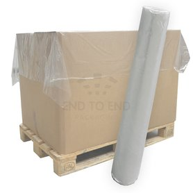 LDPE topvellen 150 x 180 cm 27 µm transparant 300/rol